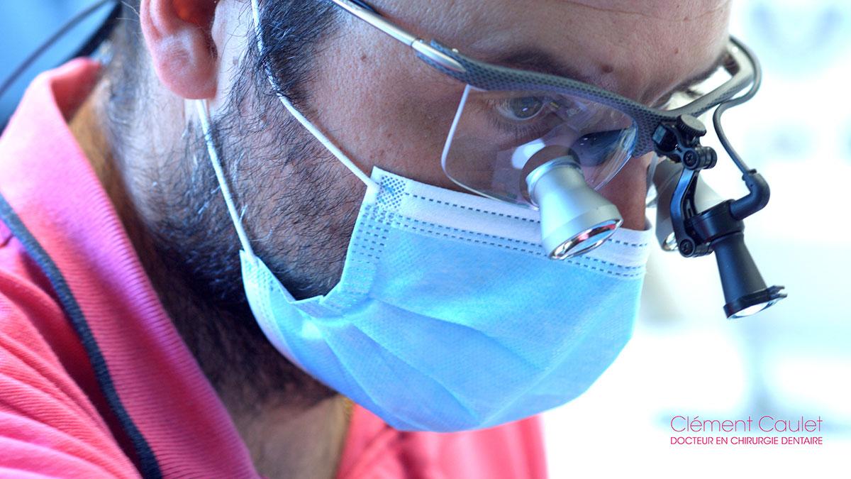 Appareils modernes et technologiques  au cabinet dentaire de Clément Caulet